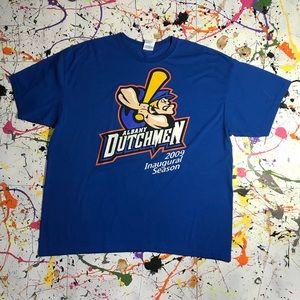 Albany Dutchmen (Baseball) T-shirt (Sz XL)